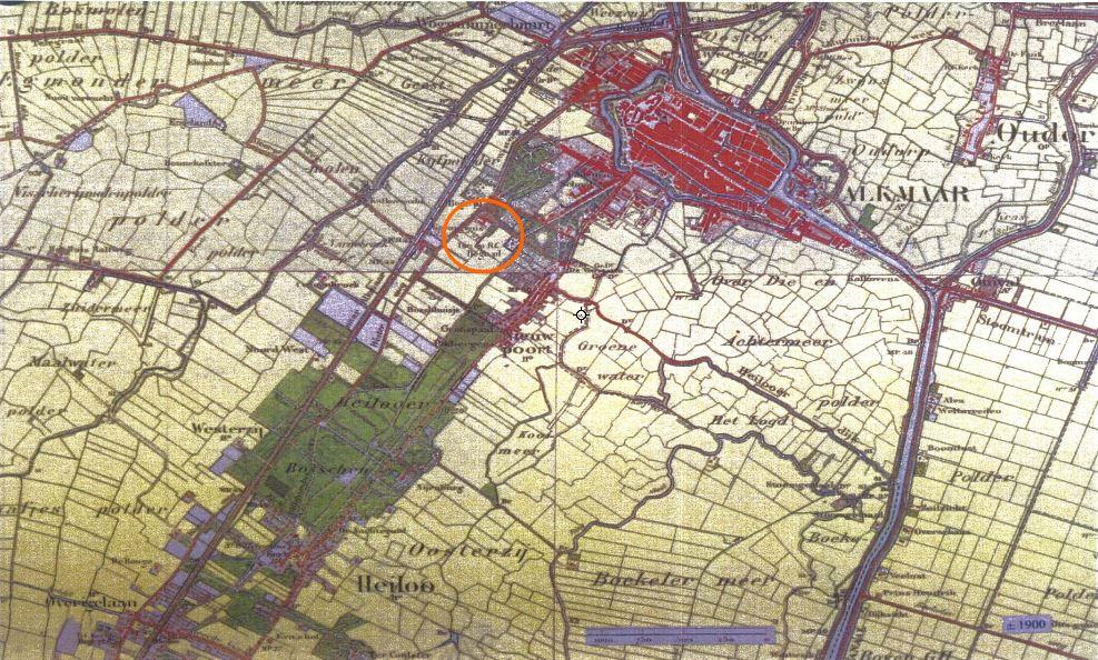 Alkmaar rond 1900v2